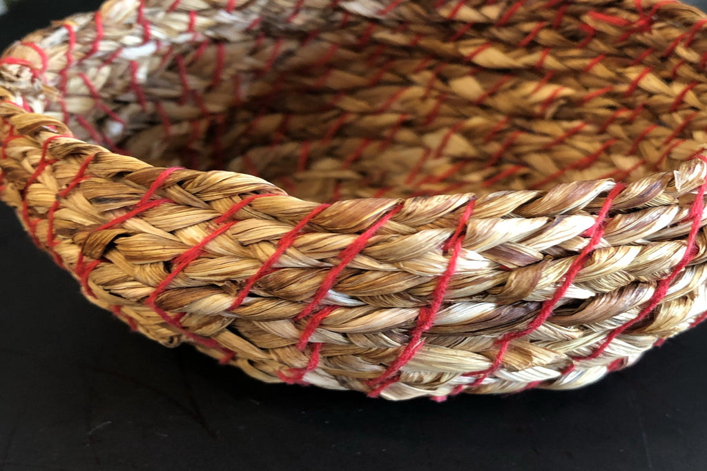 Red Thread Vessel #2 (Small) by Faye Abromwich