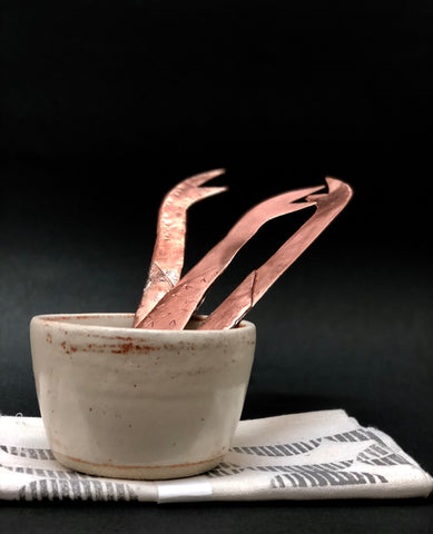 Copper Cheese Knives by Kat Relish