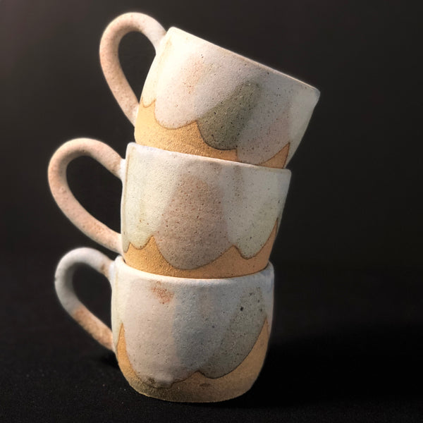 Small Coffee Mug by Clay by Tina