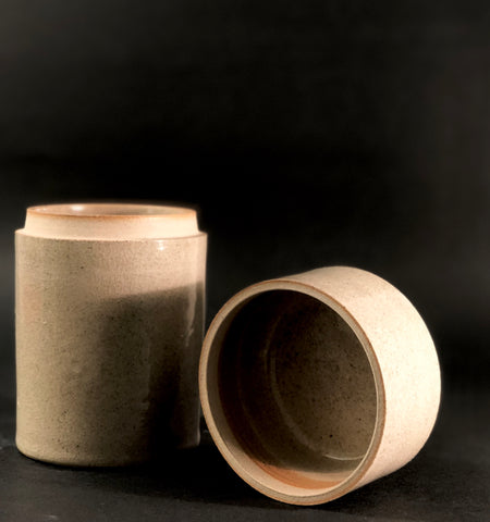 Lidded vessel by Alison Frith