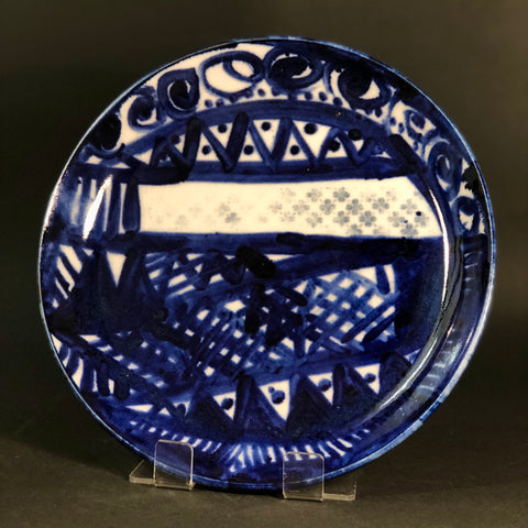 Triangle Plate by Barbara McIvor