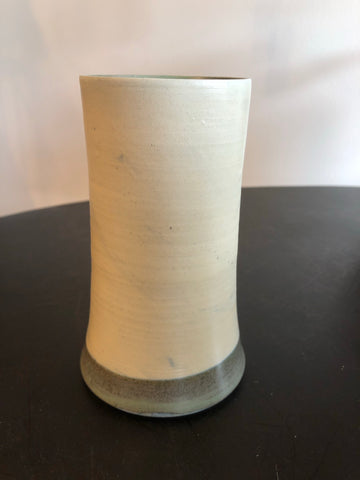 Vase - Cream & Olive Green by Ceramic Rituals