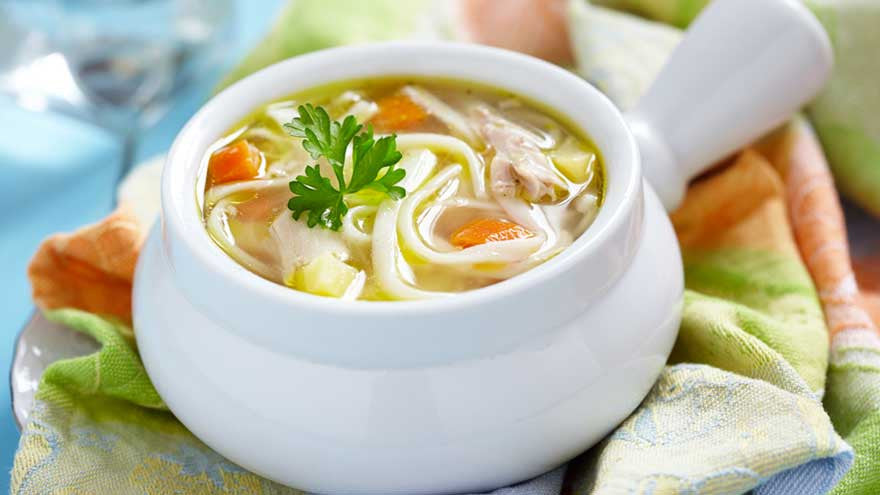 Chicken Stock Recipe: Easy Chicken Noodle Soup