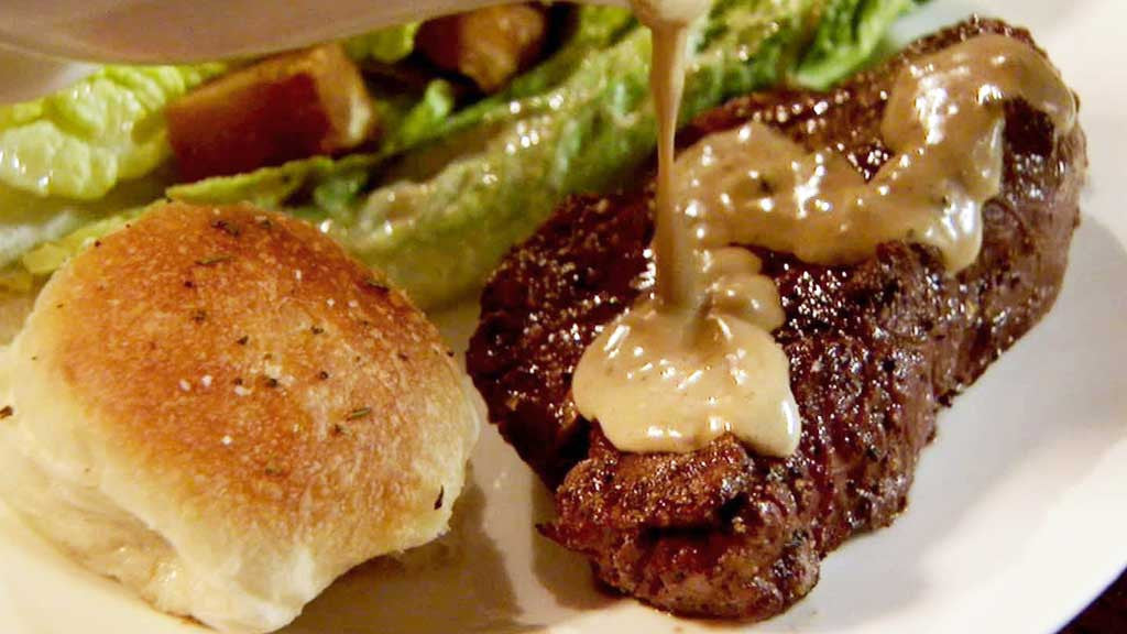 Peppercorn sauce recipe from Red Wine Jus