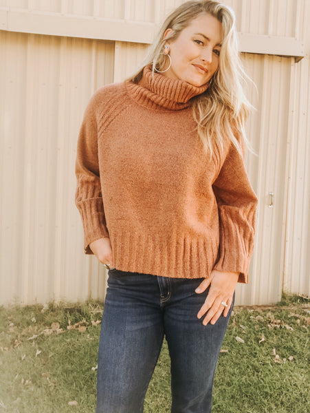 Rusted Brown Sweater