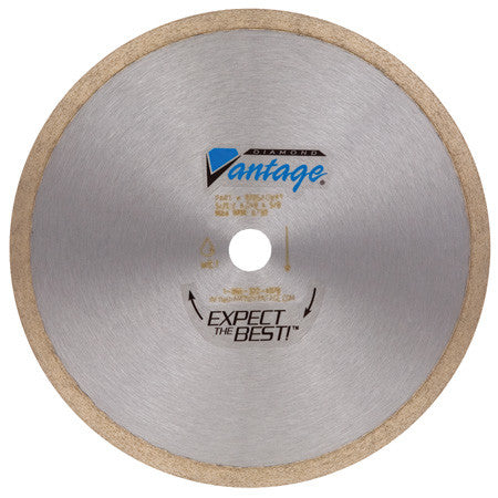 "9"" x .060"" x 7/8-5/8 Tile Blade (Wet/Dry), Heavy Duty Grade"