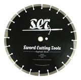 12 and 14 inch premium Asphalt cutting blades