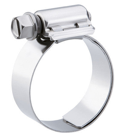 Stainless Hose Clamps with Liner for Silicone (100pk Bulk)