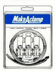 Breeze 4004 Make-A-Clamp Kit(10 fasteners only)