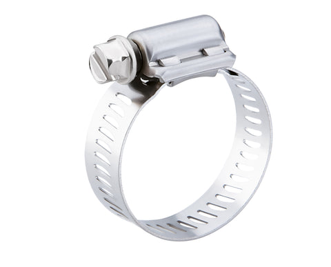 "9/16 to 1-1/16"" Breeze Hose Clamp, 62010H (10pk)"