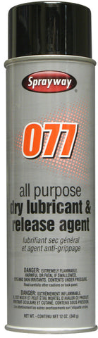 077 Industrial Silicone Spray 12pk