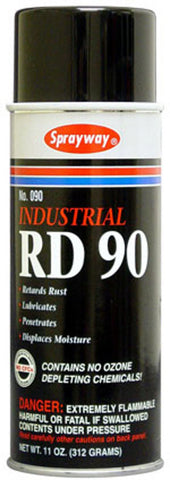 90 RD-90 Water Displacement Spray Lube 12pk
