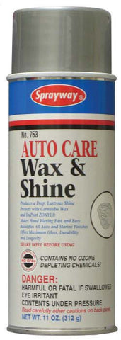 753 Wax and Shine - Car 12pk