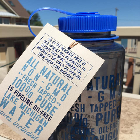 We picked this up because we love Traverse City, Michigan, and want the bay to stay this way. Shop handmade, locally made goods at www.explorelocaluniverse.com, where we donate to TART Trails and Watershed Center of Grand Traverse Bay!