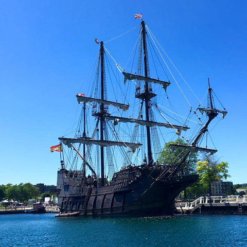 Walking the Tall Ship In Traverse City