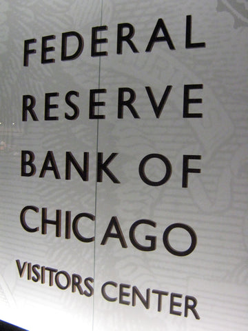 The Federal Reserve Bank of Chicago offers regular tours. You can look at lots of money without spending any! www.explorelocaluniverse.com
