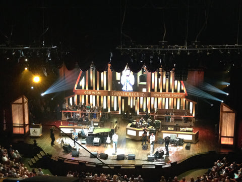 The view of the performers at the Grand Ole Opry from the perspective of Local Universe. ExploreLocalUniverse.com