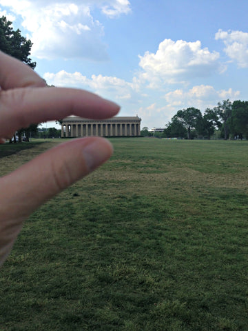 Exploring the Parthenon in Nashville with Local Universe. ExploreLocalUniverse.com