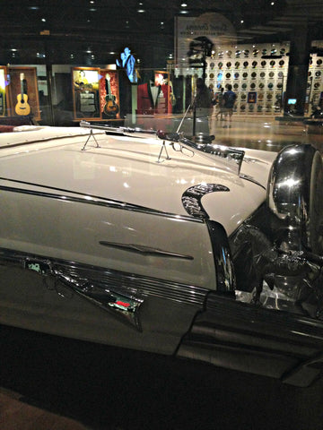 Webb Pierce's Silver Dollar Convertible. Local Universe in Nashville. ExploreLocalUniverse.com