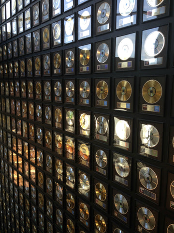 Exploring the gold records at the Country Music Hall of Fame with Local Universe. ExploreLocalUniverse.com