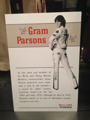 Gram Parsons' costume at the Country Music Hall of Fame in Nashville. ExploreLocalUniverse.com
