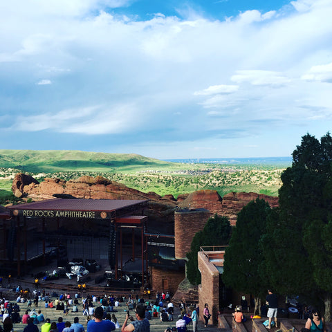 You can hike to Red Rocks, work out on the stairs, or see a concert under the stars! See www.explorelocaluniverse.com for visitor tips and locally made, sustainably made goods that benefit Colorado causes!