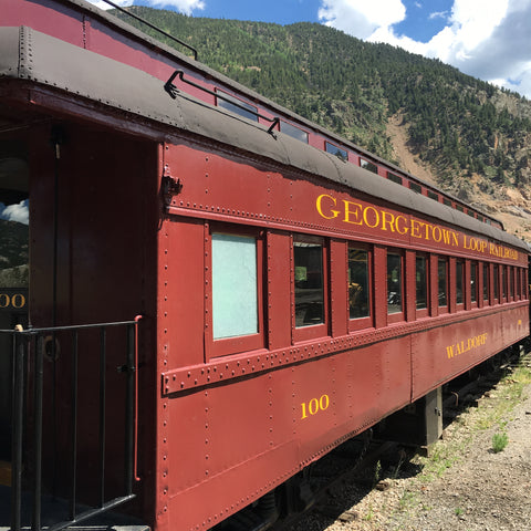 The Georgetown Loop is a wonderful family experience near Denver. See www.explorelocaluniverse.com for visitor tips and locally made, sustainably made goods that benefit Colorado causes!
