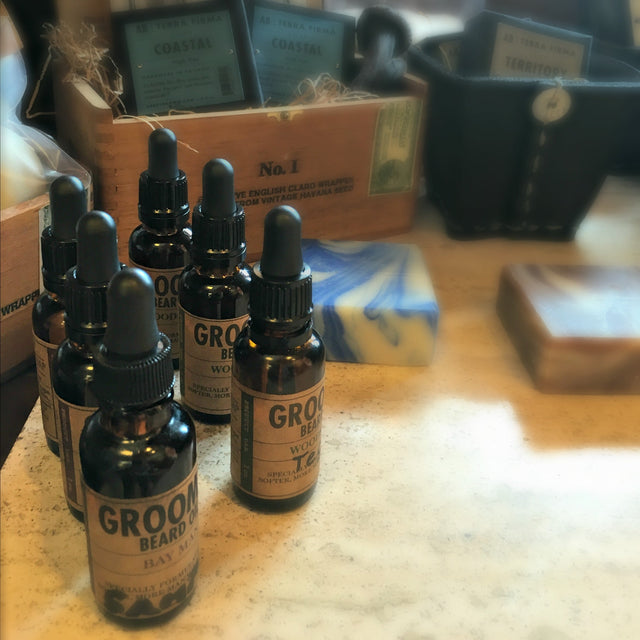 gifts for dad beard oil from Local Universe