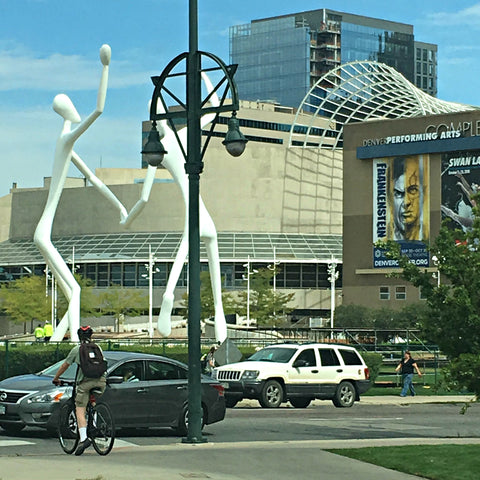 Near the Denver theater complex downtown. See www.explorelocaluniverse.com for visitor tips and locally made, sustainably made goods that benefit Colorado causes!