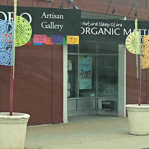 Broadway downtown offers lots of organic and artsy boutiques. See www.explorelocaluniverse.com for visitor tips and locally made, sustainably made goods that benefit Colorado causes!