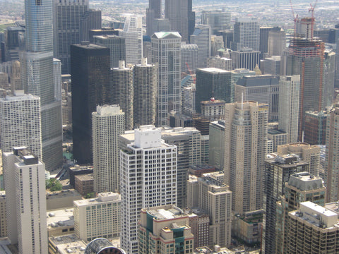The views in Chicago, especially from the Signature Room in the Hancock Building, can take your breath away. www.explorelocaluniverse.com