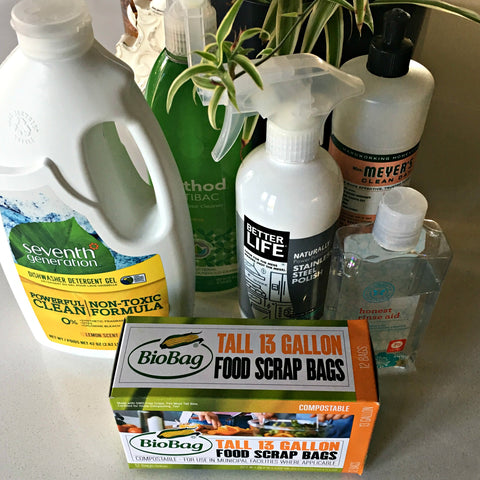 Local Universe green cleaning supplies