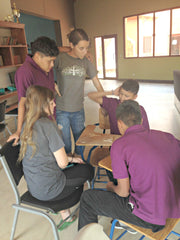 Local Universe sits in on class at the Micah House in Honduras. ExploreLocalUniverse.com