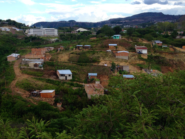 The neighborhood around the Micah House, Honduras. ExploreLocalUniverse.com