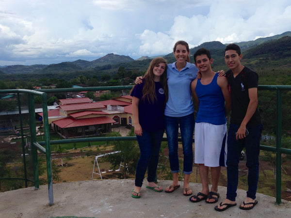 Atop the water tower at the Micah House, Honduras. ExploreLocalUniverse.com