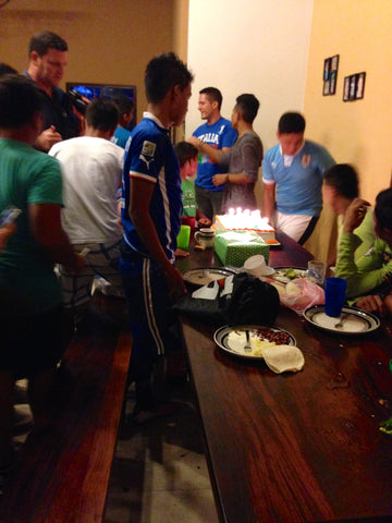 Birthday party at the Micah House, Honduras. ExploreLocalUniverse.com