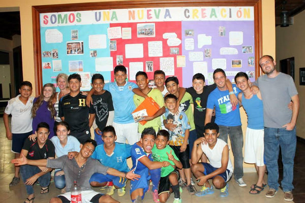 The boys of the Micah House in 2014 in Honduras. ExploreLocalUniverse.com