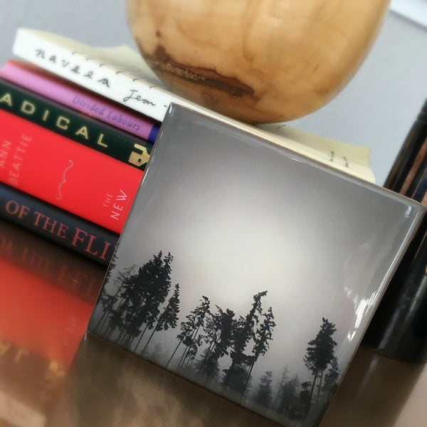 Into the Woods Bamboo Photo Block by Seattle photographer Travis Tyler available at www.explorelocaluniverse.com.