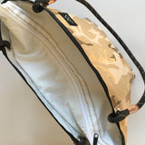 Metamorphic Marble Deluxe Upcycled Zipper Tote made in Seattle and available at www.explorelocaluniverse.com.