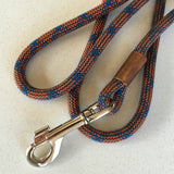 Metamorphic Climbing Rope Dog Leash made in Seattle and available at www.explorelocaluniverse.com.