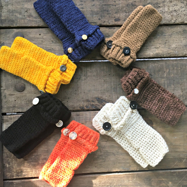 Sustainable Fingerless Gloves
