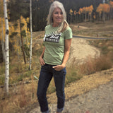 Altitude Is the Best Attitude Women's Organic Tee by David Ives for Local Universe