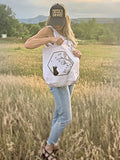Bear With Me Women's organic cotton tote bag for Local Universe
