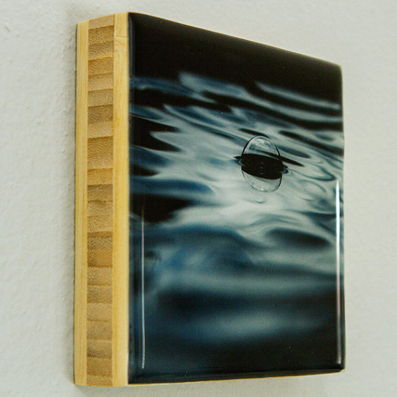 Drifting Alone Bamboo Photo Block by Seattle photographer Travis Tyler available at www.explorelocaluniverse.com.
