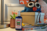 The Spinster Sisters Monster Repellent for kids locally handcrafted and available from www.explorelocaluniverse.com.