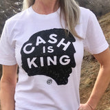*Organic* Cash Is King Short-Sleeve Tee
