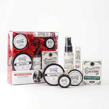 Vivian, The Beautician, Skin Care Sampler