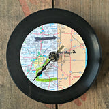 Art Farm handcrafted upcycled wall clocks locally made in Fort Wayne for Local Universe. ExploreLocalUniverse.com