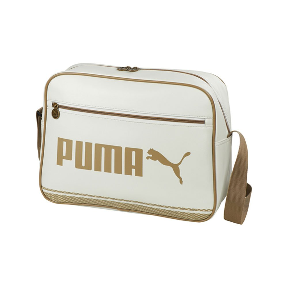 Puma Campus Messenger Shoulder Bag - Beige