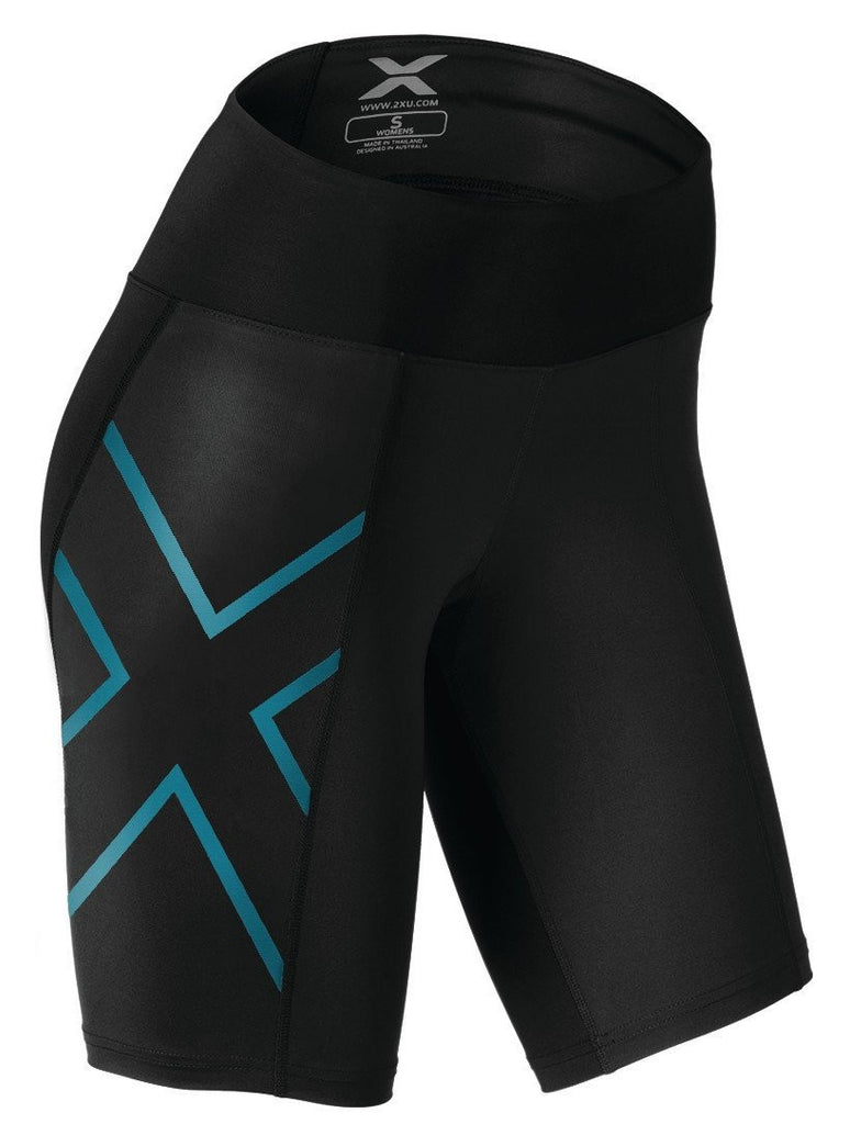 2XU Womens Mid Rise Compression Short